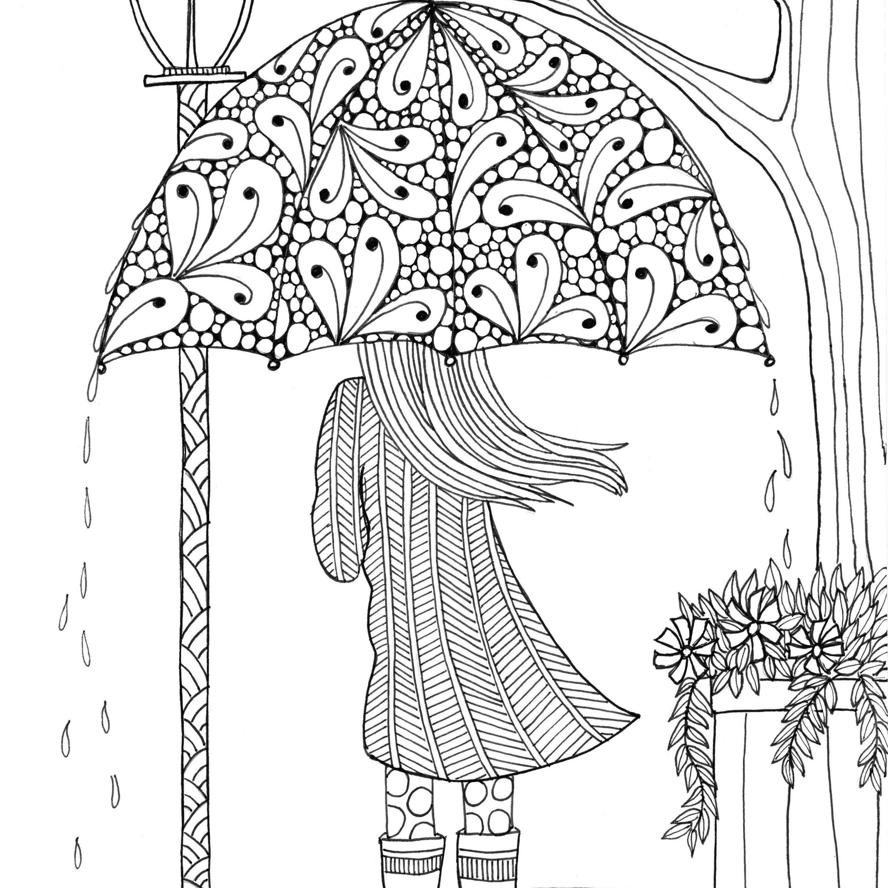 Free, Printable Coloring Pages For Adults - Free Printable Coloring Books For Adults