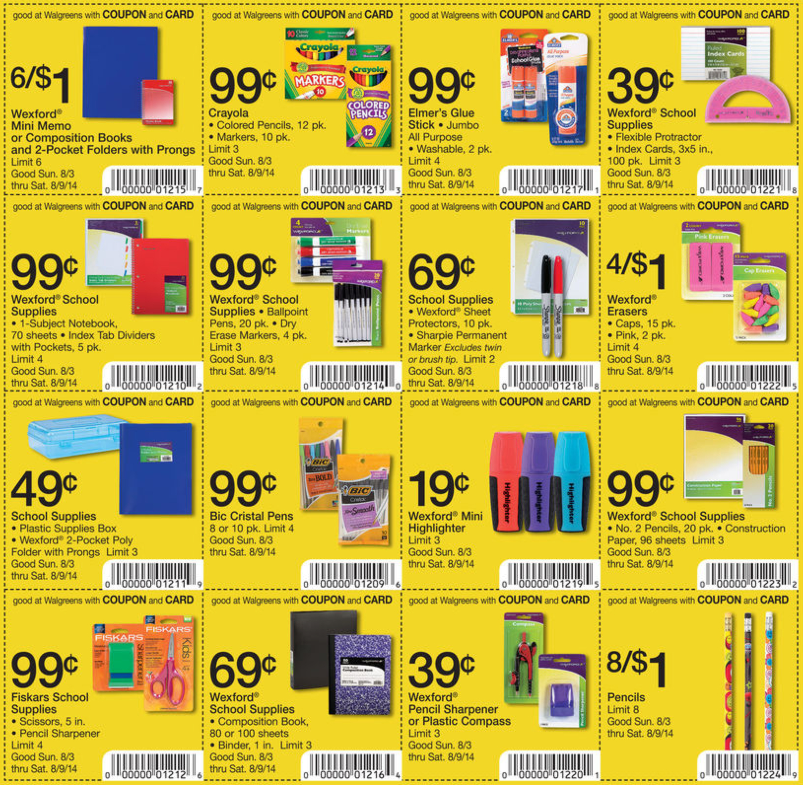 Free Printable Coupons For School Supplies 2018 - Perfume Coupons - Free Printable Coupons For School Supplies At Walmart