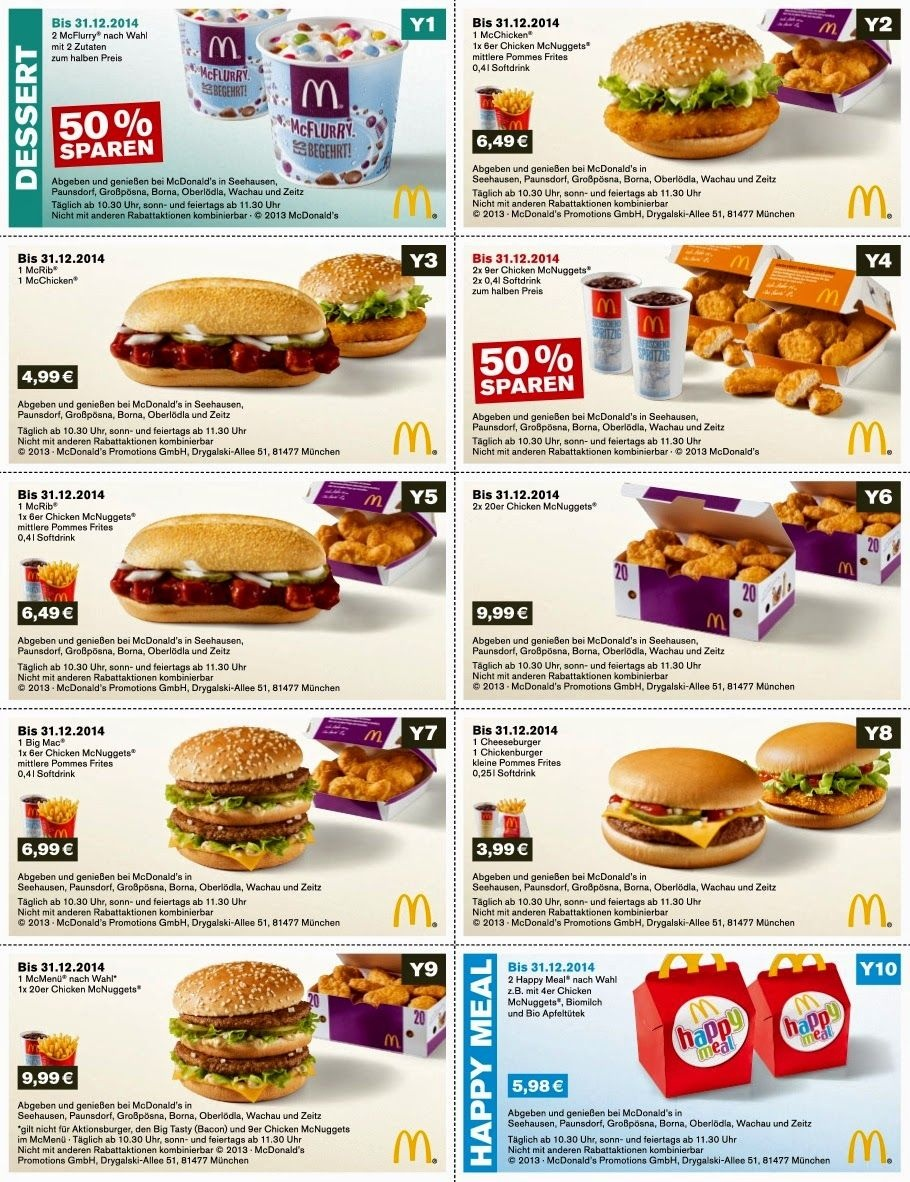 Free Printable Coupons: Mcdonalds Coupons | Fast Food Coupons - Free Mcdonalds Smoothie Printable Coupon