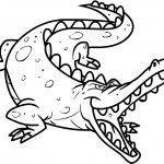 Free Printable Crocodile Coloring Pages For Kids | Pirate Theme – Free Printable Pictures Of Crocodiles