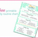 Free Printable Daily Routine Chart | Keep Calm Get Organised   Free Printable Morning Routine Chart