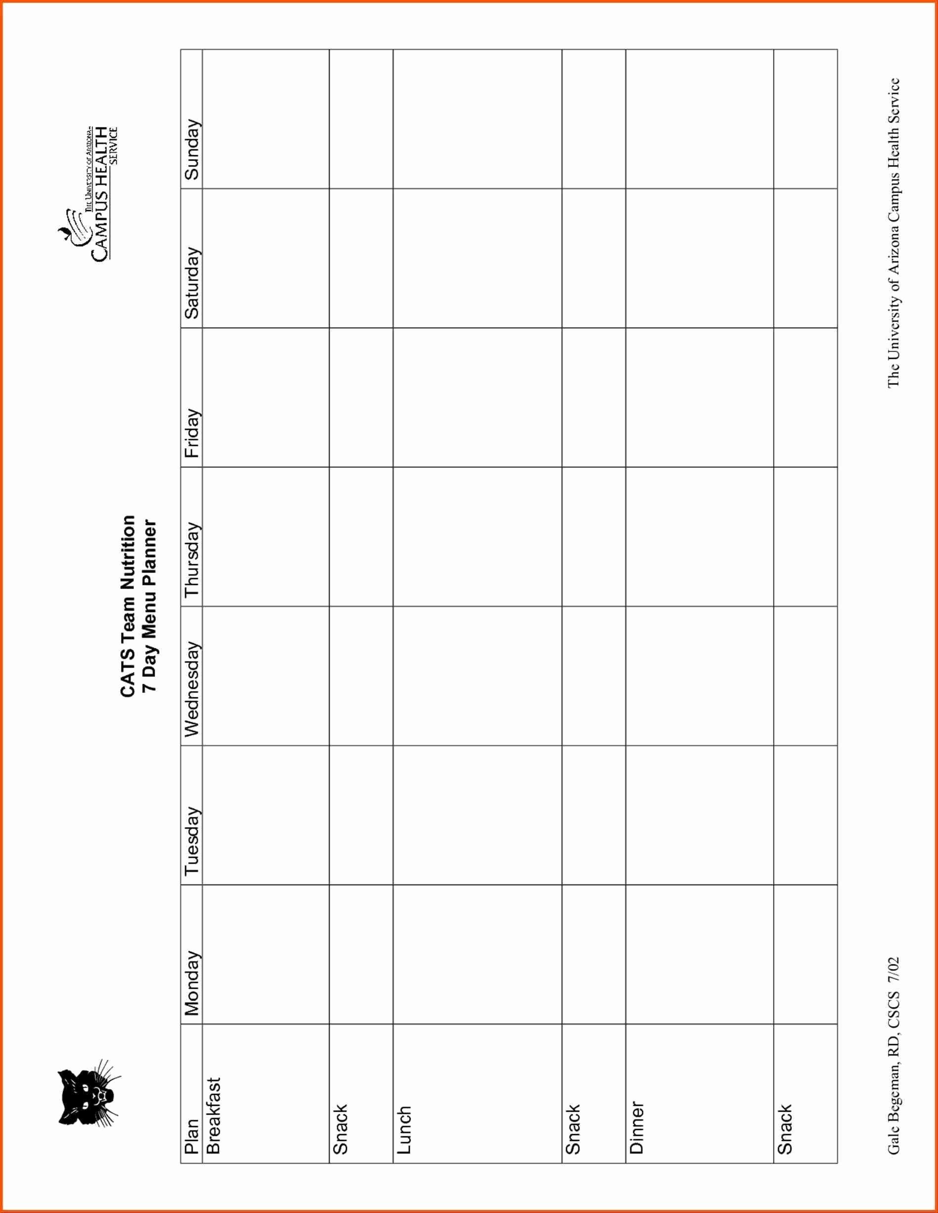 Free Printable Daycare Menus (68+ Images In Collection) Page 1 - Free Printable Daycare Menus