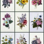 Free Printable Decoupage Papers    Sizes, Medallions, Card Fronts   Free Printable Decoupage Flowers
