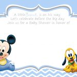 Free Printable Disney Baby Shower | Baby Shower | Mickey Mouse – Free Printable Tinkerbell Baby Shower Invitations