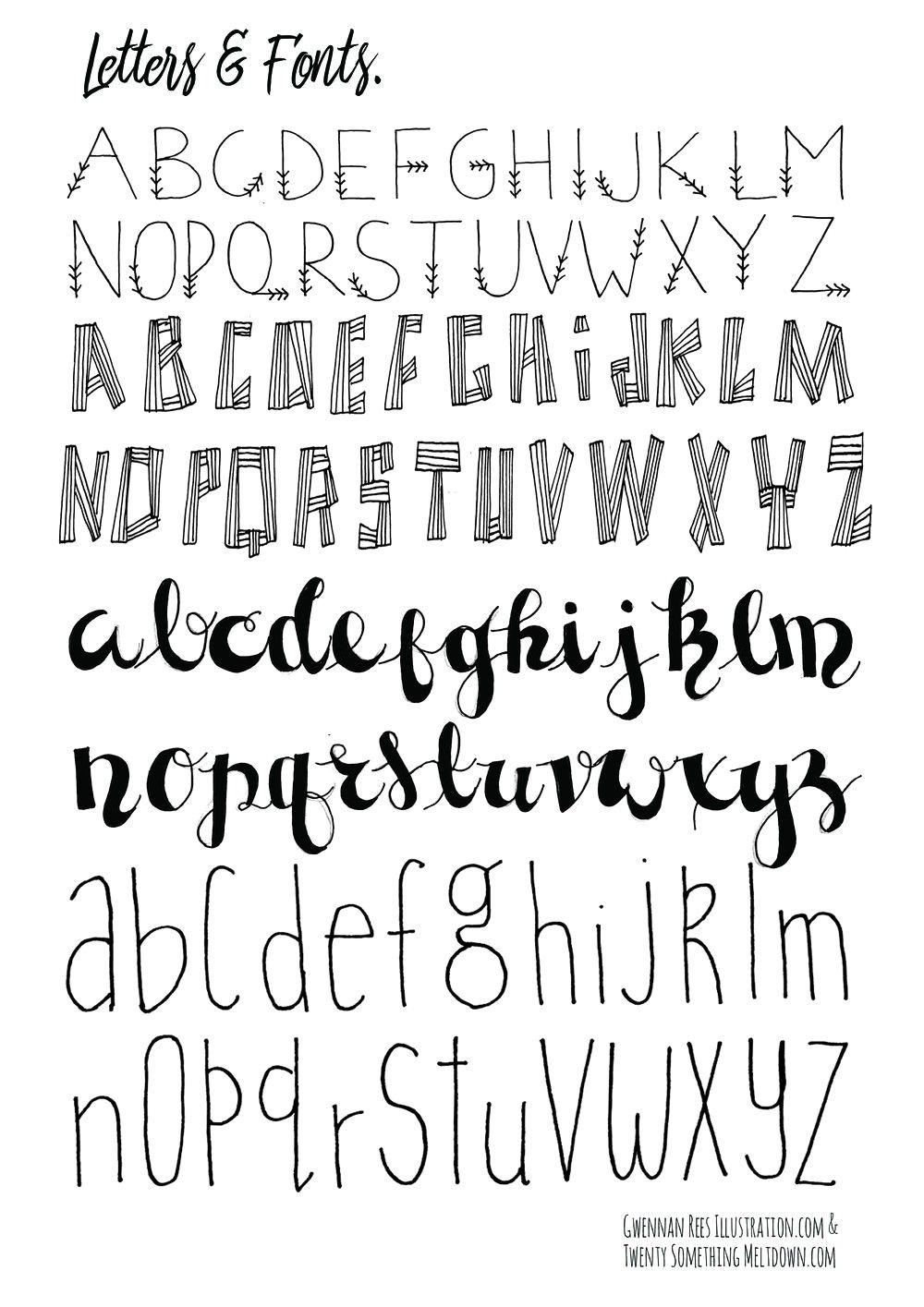 Free Printable Disney Letter Stencils | Bullet Journals - Free Printable Disney Font Stencils