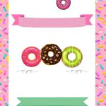 Free Printable Donuts Invitation | Free Printable Birthday - Printable Invitations Free No Download