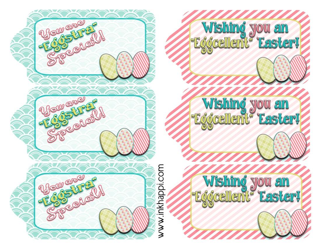 Free Printable Easter Basket Name Tags – Happy Easter & Thanksgiving - Free Easter Name Tags Printable