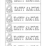 Free Printable Easter Bookmarks – Happy Easter & Thanksgiving 2018   Free Printable Religious Easter Bookmarks