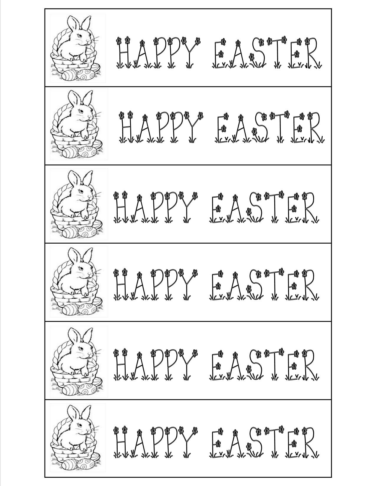 Free Printable Easter Bookmarks – Happy Easter & Thanksgiving 2018 - Free Printable Religious Easter Bookmarks