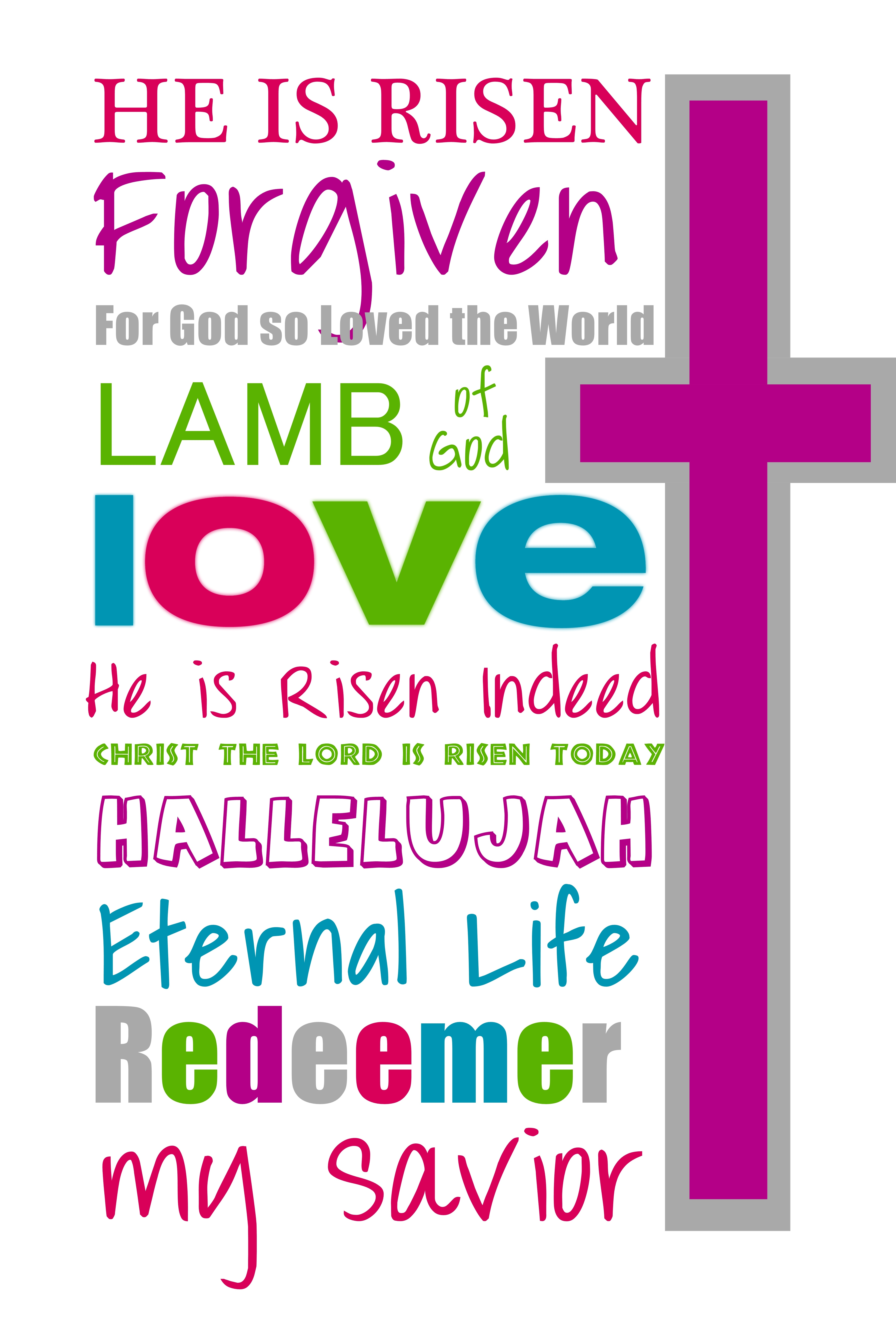 Free Printable Easter Bookmarks – Hd Easter Images - Free Printable Religious Easter Bookmarks