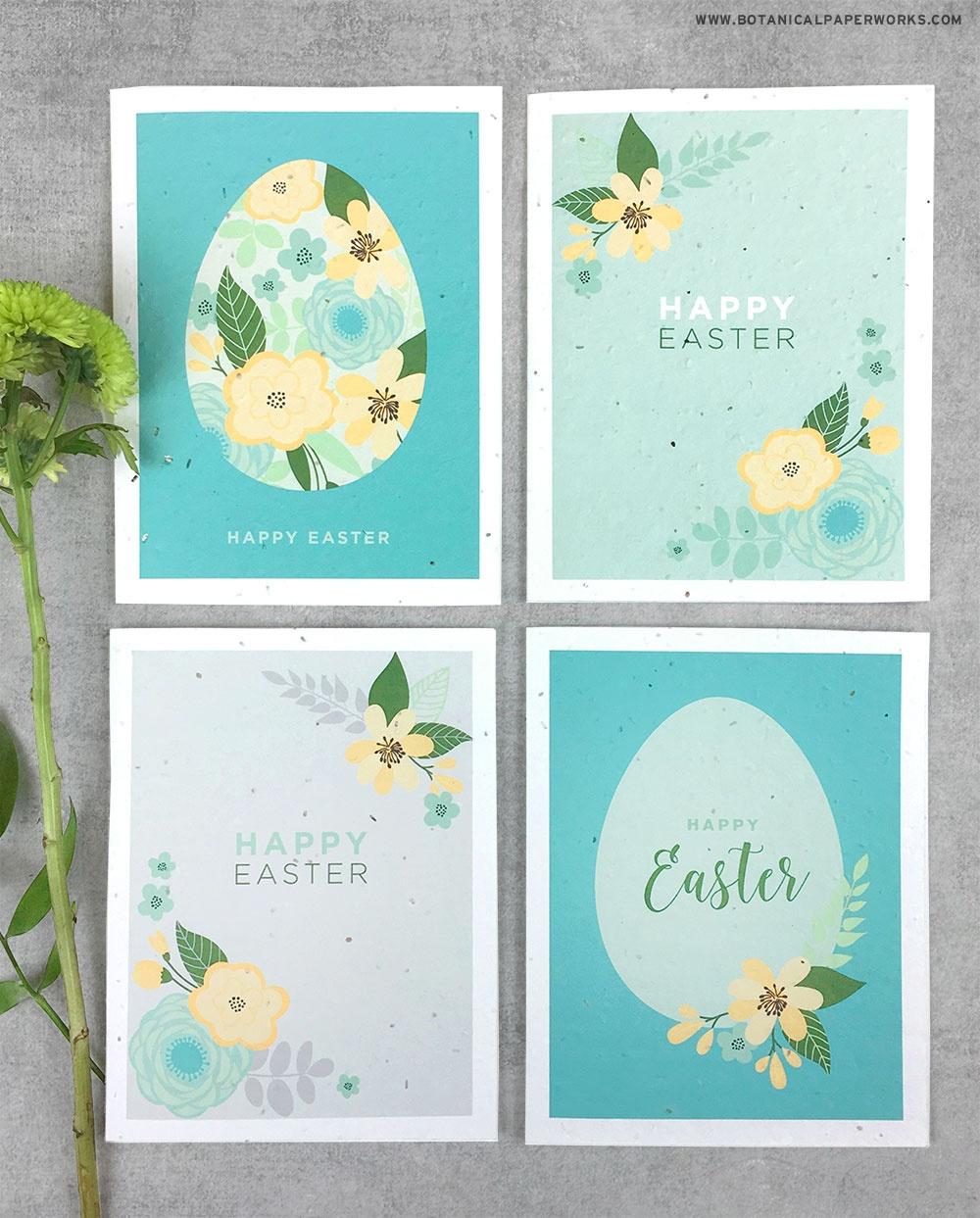 Free Printable} Easter Cards | Blog | Botanical Paperworks - Printable Easter Greeting Cards Free