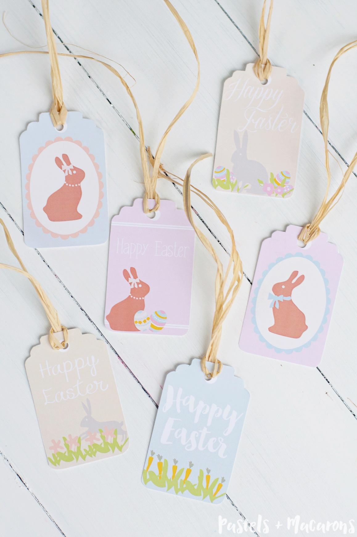 Free Printable Easter Gift Tags - Free Easter Name Tags Printable