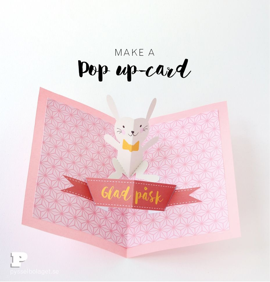 Free Printable Easter Pop Up Card | Popprop And Fold | Diy Easter - Free Printable Easter Greeting Cards
