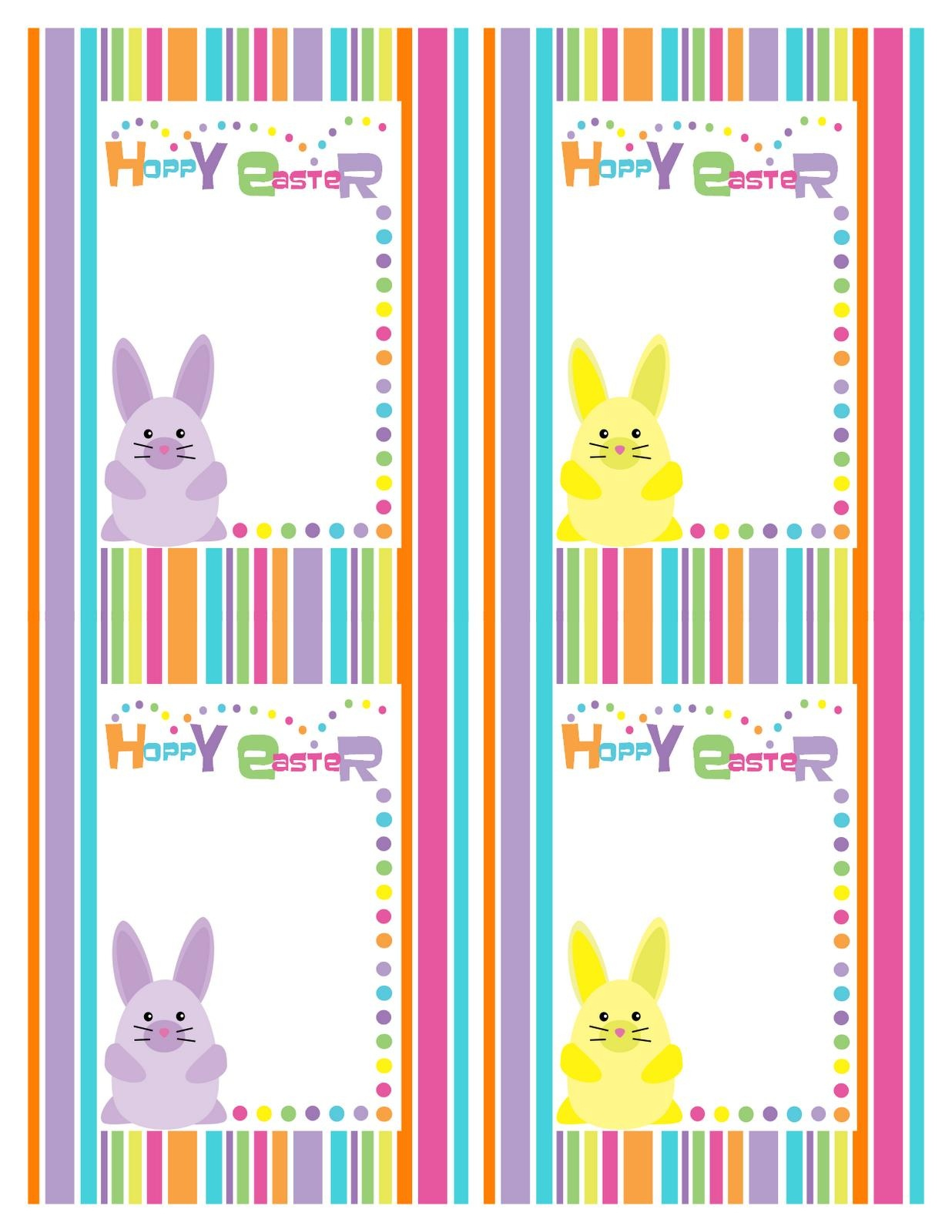 Free Printable Easter Tags – Hd Easter Images - Free Easter Name Tags Printable