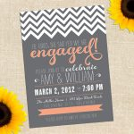 Free Printable Engagement Party Invitations   Layoffsn   Free Printable Engagement Party Invitations