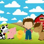 Free Printable Farm Party Invitations. - Oh My Fiesta! In English - Free Printable Farm Birthday Invitations