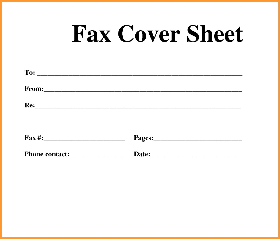 Free Printable Fax Cover Sheet Pdf | Room Surf - Free Printable Message Sheets