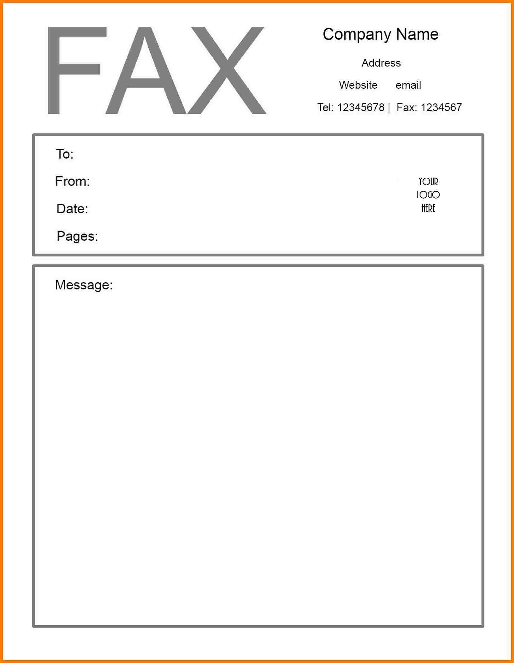 Free Printable Fax Cover Sheet | Printable Fax Cover Sheet - Free Printable Message Sheets