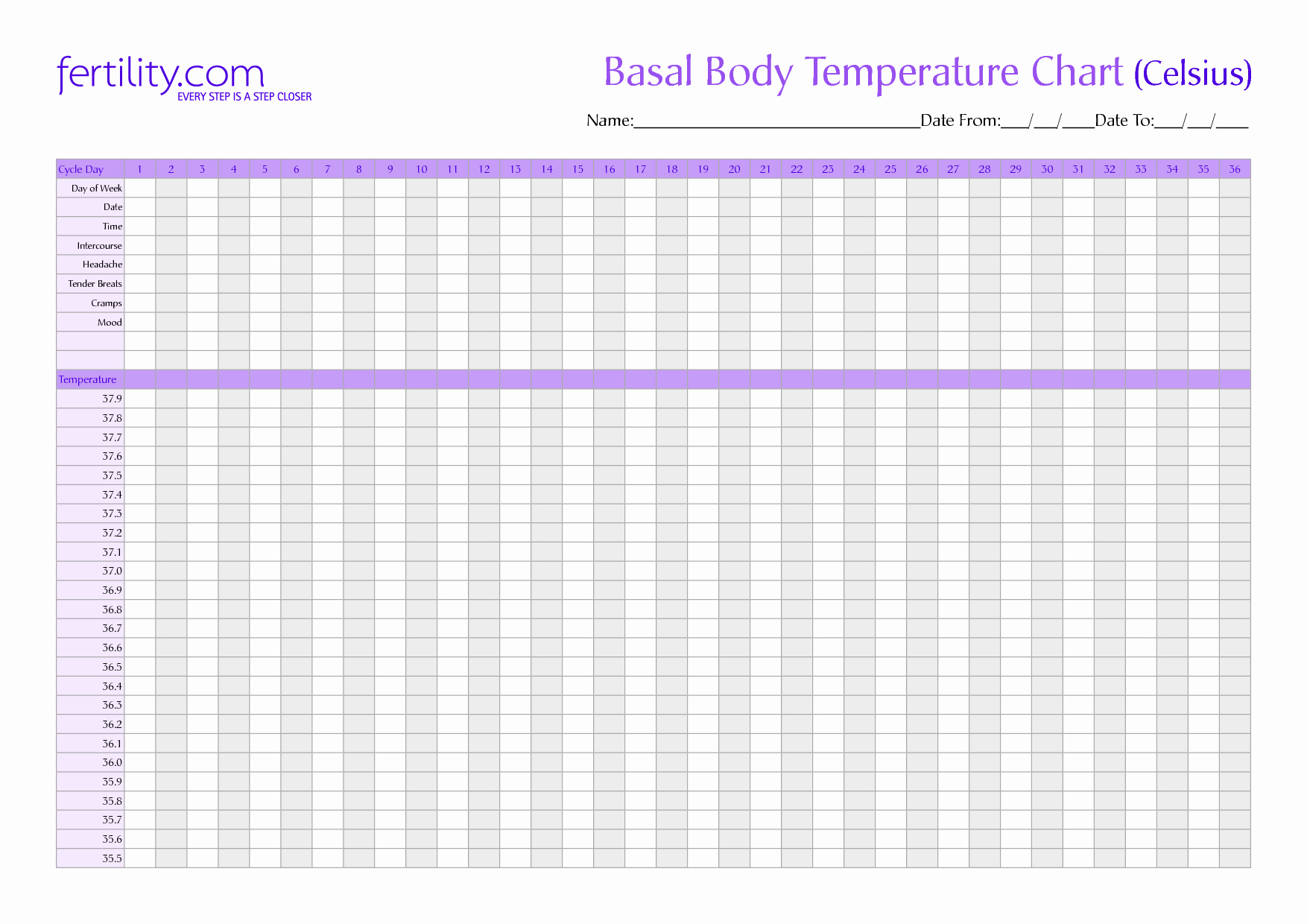 Free Printable Fertility Calendar Search Results For Basal Body - Free Printable Fertility Chart