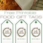 Free Printable Food Gift Tags | Printables | Gift Tags Printable   Free Printable Christmas Food Labels