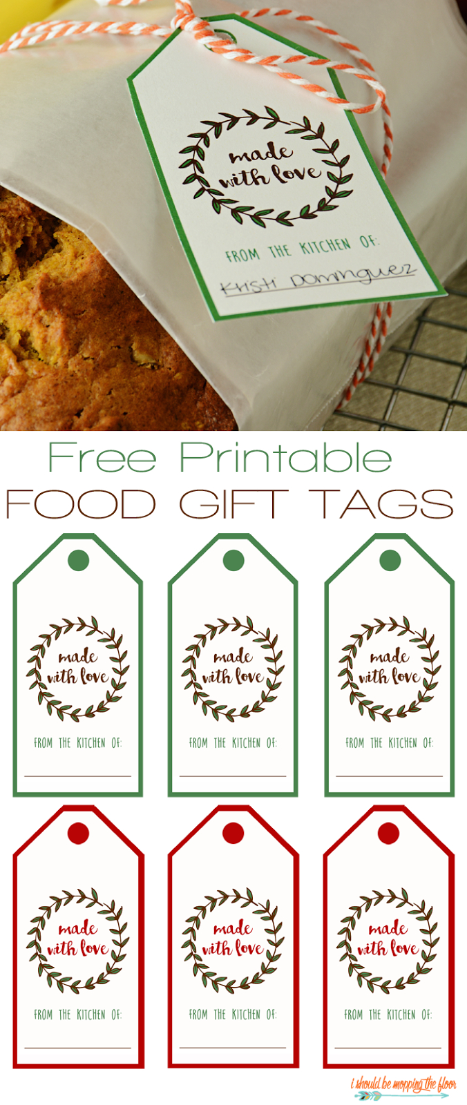 Free Printable Food Gift Tags | Printables | Gift Tags Printable - Free Printable Christmas Food Labels