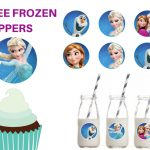 Free Printable Frozen Cupcake Circle Toppers – Magical Printable – Frozen Cupcake Toppers Free Printable