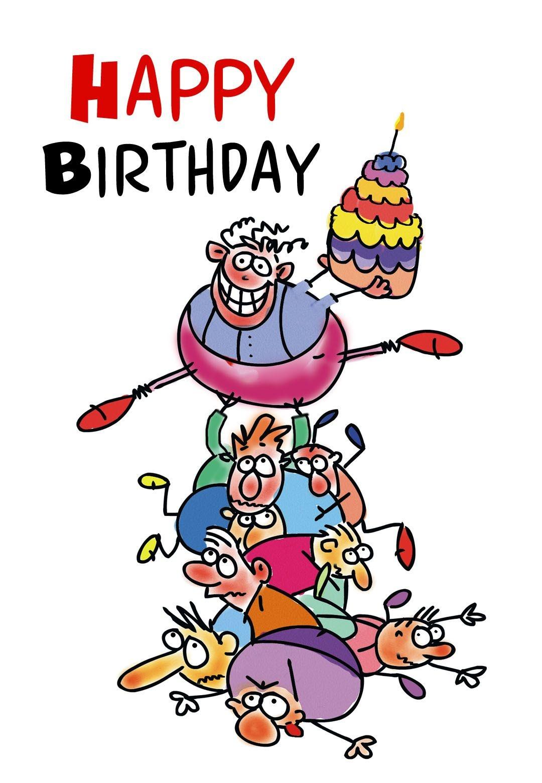 Free Printable Funny Birthday Greeting Card | Gifts To Make | Free - Free Printable Funny Birthday Cards