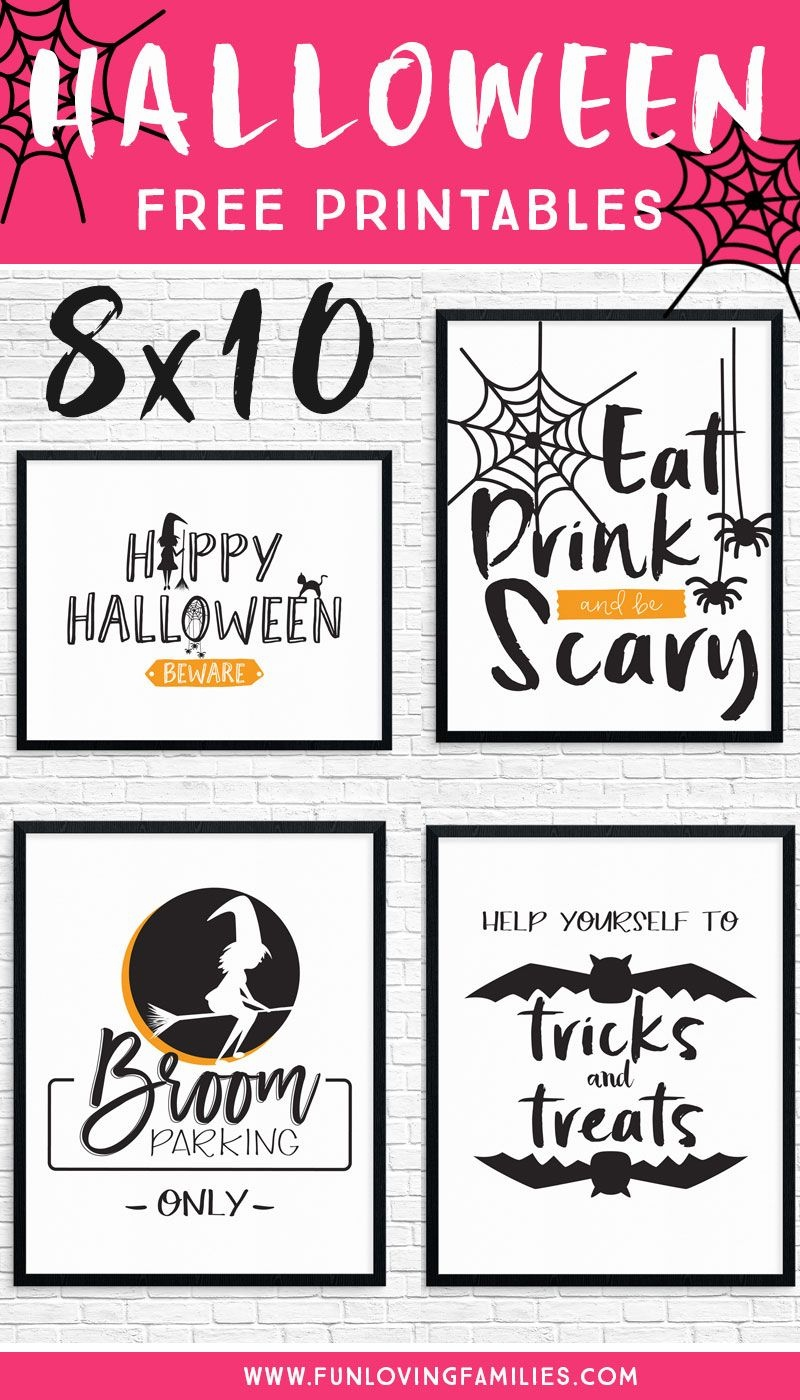 Free Printable Halloween Decorations To Spruce Up Your Holiday - Free Printable Halloween Decorations Scary
