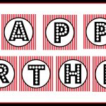Free Printable Happy Birthday Banner Black And White   Theveliger   Diy Swank Free Printable Letters