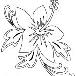 Free Printable Hibiscus Coloring Pages For Kids   Free Printable Hibiscus Coloring Pages