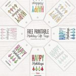 Free Printable Holiday Gift Tags At The Little Umbrella. Customize   Free Printable Customizable Gift Tags