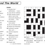 Free Printable Large Print Crossword Puzzles | M3U8 – Free Printable Crossword Puzzles For Adults
