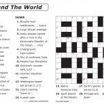 Free Printable Large Print Crossword Puzzles | M3U8   Free Printable Puzzles