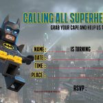 Free Printable Lego Batman The Movie Invitation | Free Printable   Lego Batman Party Invitations Free Printable