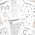 Free Printable Letter C Worksheets   Alphabet Worksheets Series   Free Printable Letter C Worksheets
