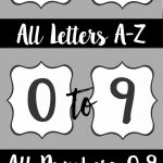 Free Printable Letters For Banners | Party Ideas | Printable Banner   Free Printable Letters Az