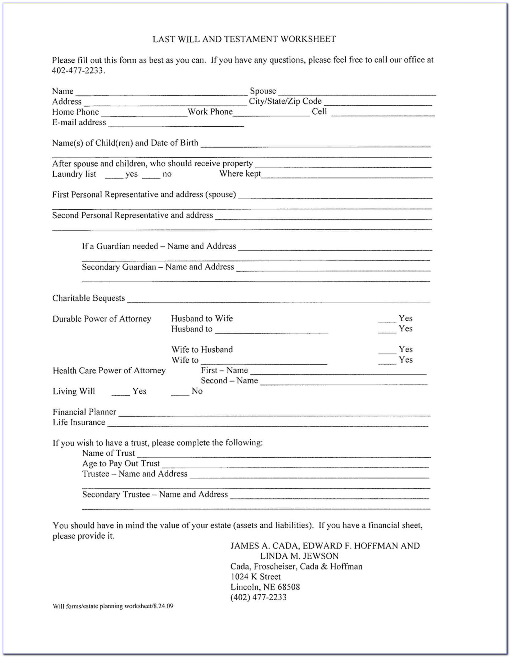 Free Printable Living Will Forms Florida - Form : Resume Examples - Living Will Forms Free Printable