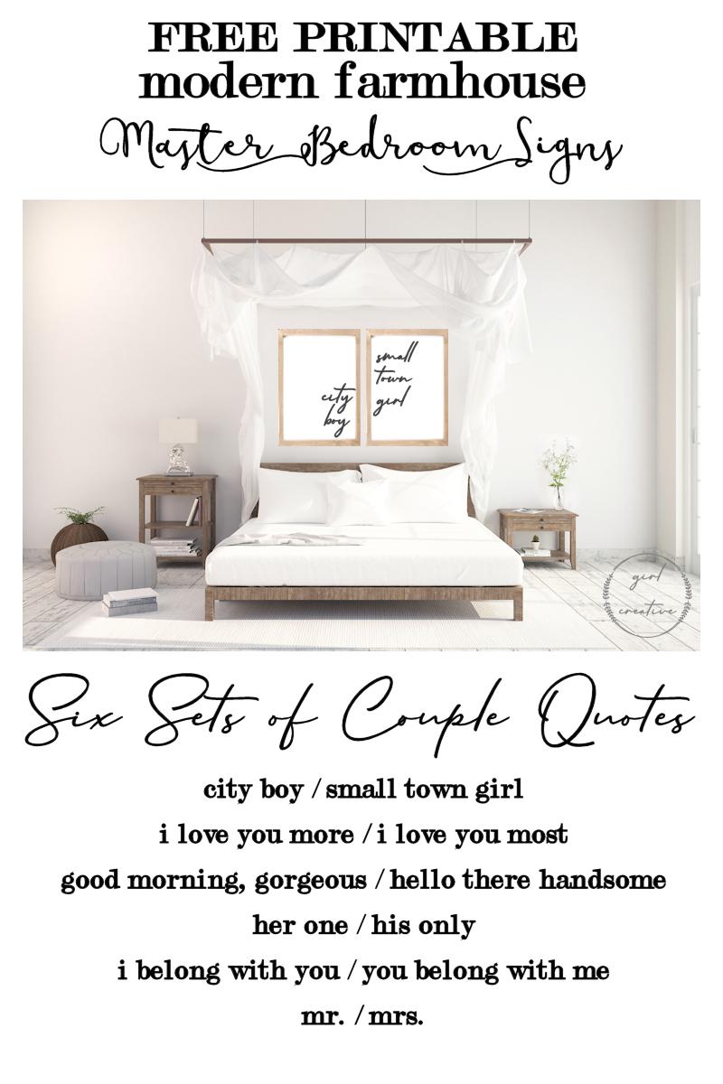 Free Printable Love Signs - The Girl Creative - Free Printable Bedroom Door Signs