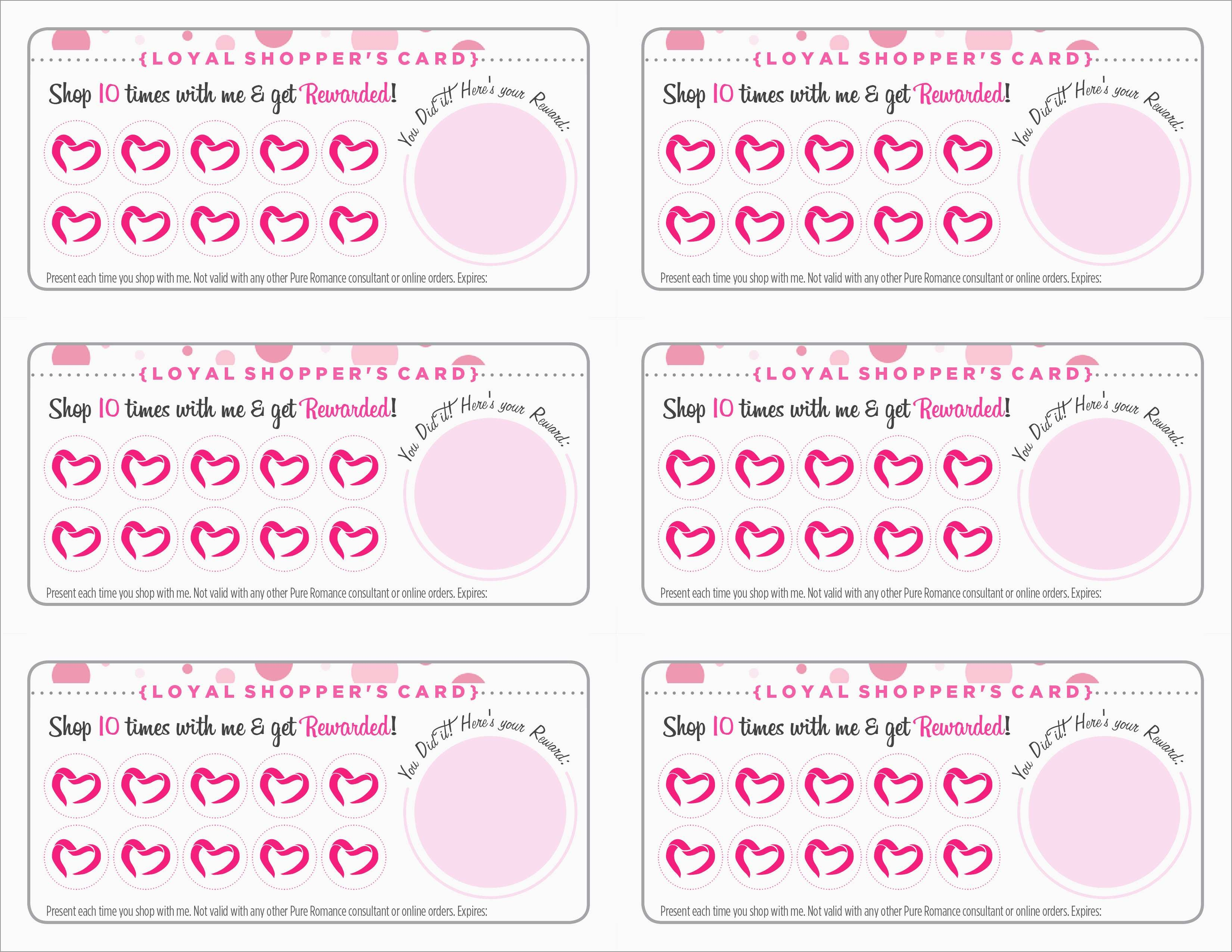 Free Printable Loyalty Card Template Fabulous 10 1 Free Punch Card - Free Printable Loyalty Card Template