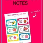Free Printable Lunch Box Notes   Gear Up For Back To School   Frugal   Free Printable Gears