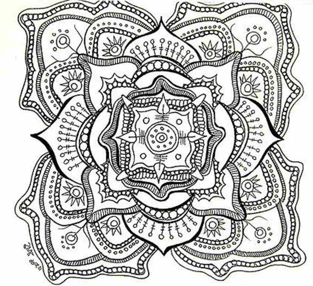 Free Printable Mandala Coloring Pages For Adults | Adult Coloring - Free Printable Mandala Patterns