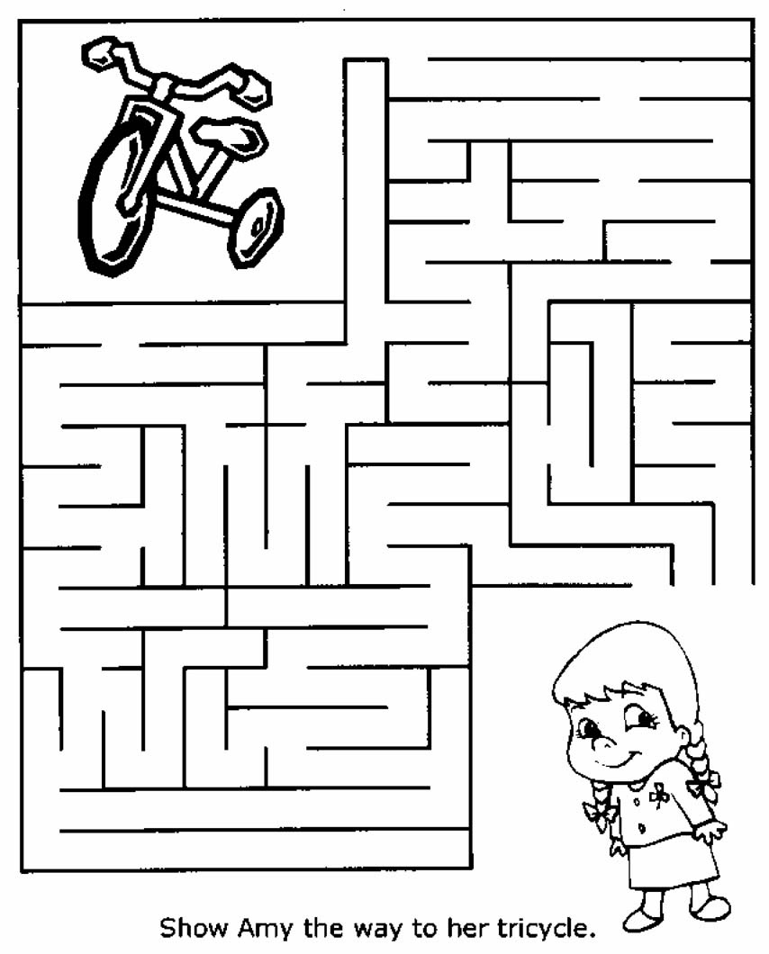 Free Printable Mazes For Kids | All Kids Network - Free Printable Activities For 6 Year Olds