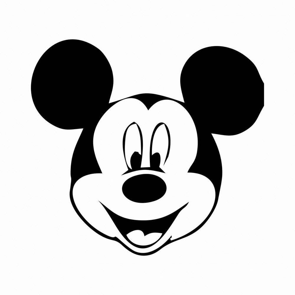 Free Printable Mickey Mouse Template | 34 Mickey Mouse Face Template - Free Mickey Mouse Printable Templates