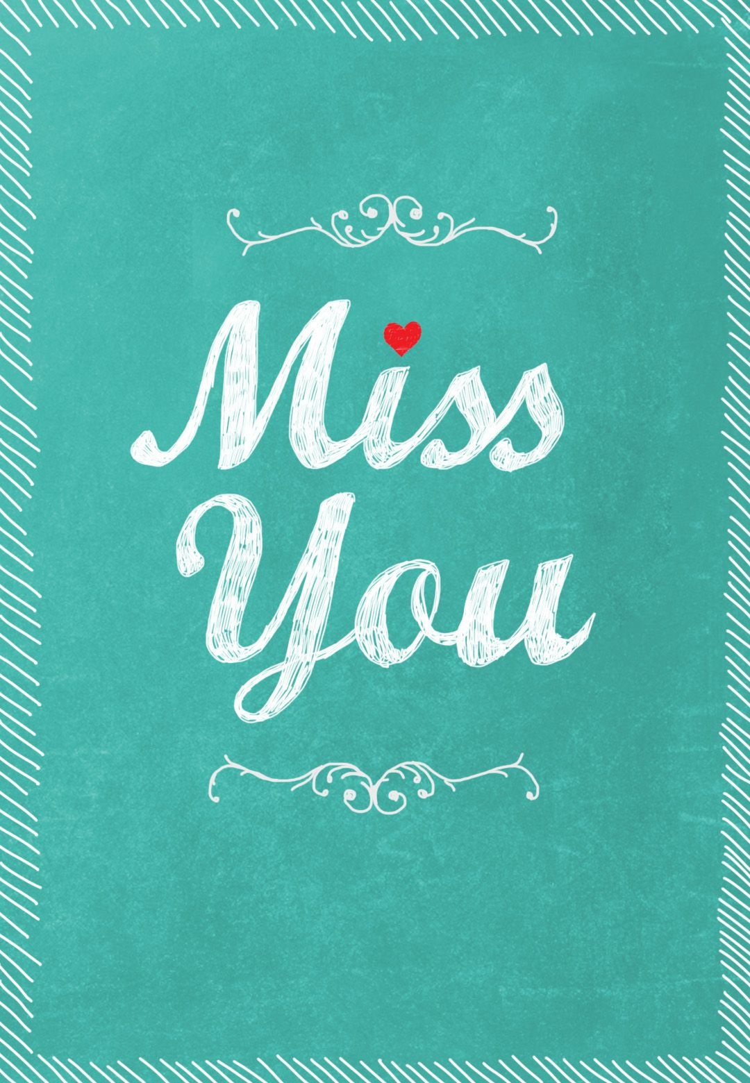 Free Printable Miss You Greeting Card | Me, Only Better | Miss You - Free Printable Card Maker