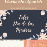 Free Printable Mother's Day Cards In Spanish   Mommymaleta   Free Spanish Mothers Day Cards Printable