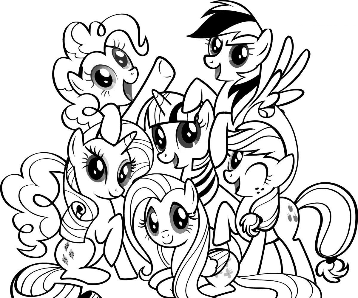 Free Printable My Little Pony Coloring Pages For Kids | Cool Stuff - Free Printable Coloring Pages Of My Little Pony