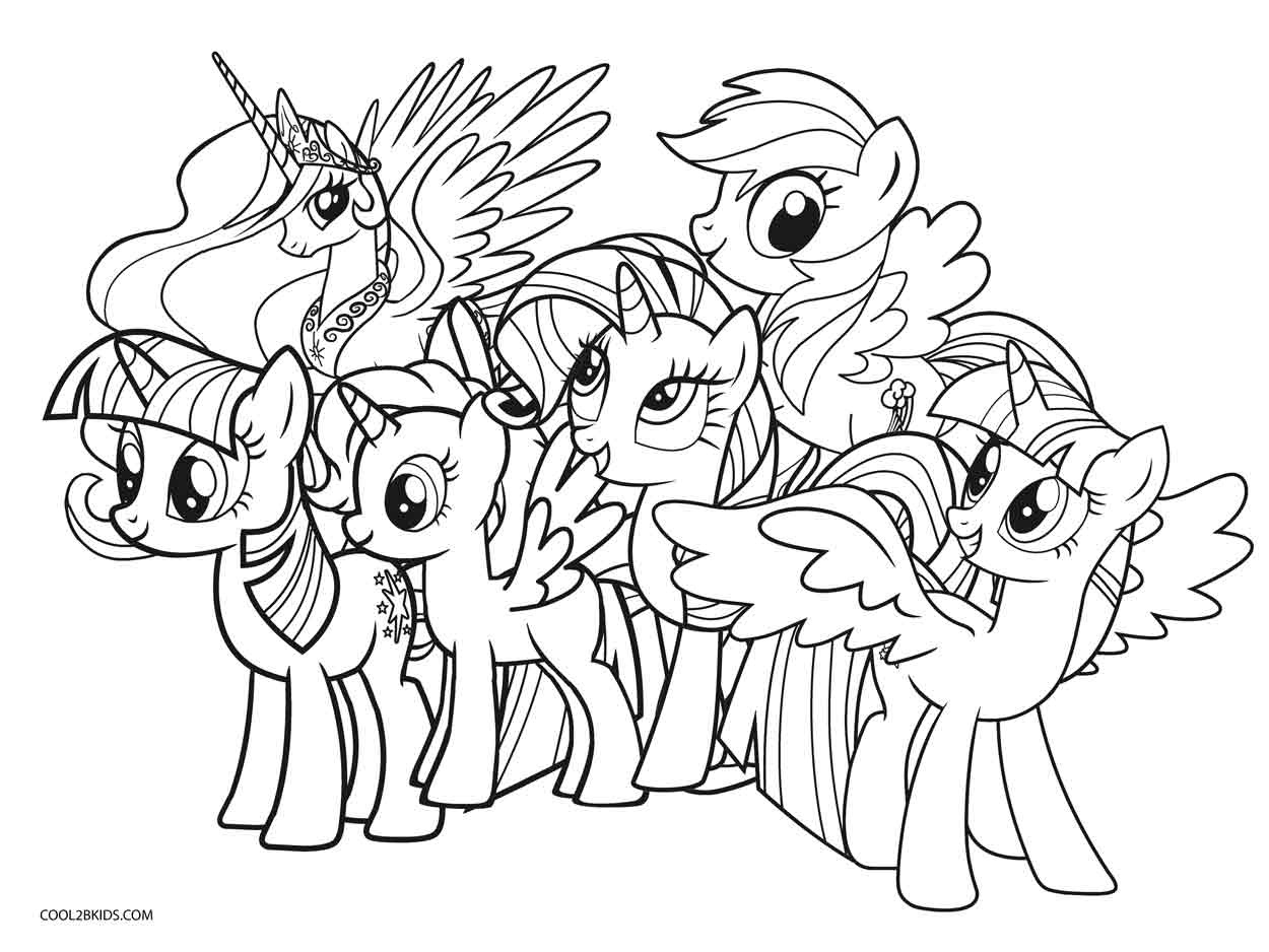 Free Printable My Little Pony Coloring Pages For Kids | Cool2Bkids - Free Printable Coloring Pages Of My Little Pony