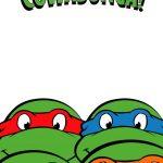Free Printable Ninja Turtle Birthday Party Invitations – Bagvania   Free Printable Tmnt Birthday Party Invitations