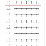Free Printable Number Addition Worksheets (1 10) For Kindergarten   Free Printable Number Line