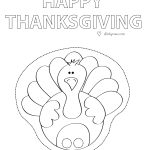 Free Printable Paper Craft  Happy Thanksgiving Finger Puppet Turkey   Free Printable Turkey Craft